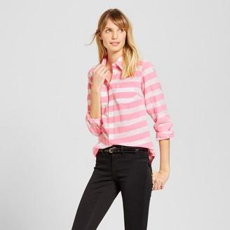 Merona Women's Striped Favorite Shirt $22.99 thestylecure.com