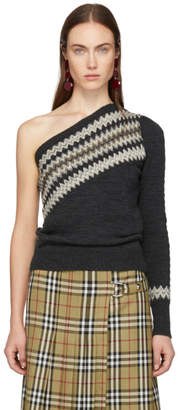Isabel Marant Grey Dulcie Wild West Sweater