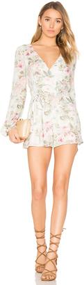 MAJORELLE Rosebud Romper $218 thestylecure.com