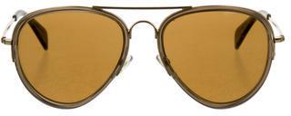 CelineCéline Aviator Tinted Sunglasses