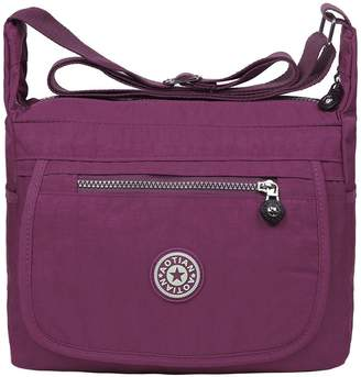 EGOGO Water Resistant Nylon Casual Handbag Shoulder Bag Messenger Cross Body Bag E303-6