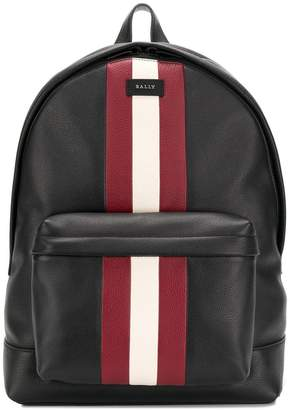Bally logo patch mini backpack