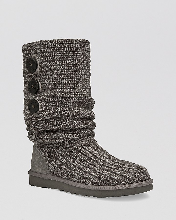 "UGG Classic ""Cardy"" Knit Boots"