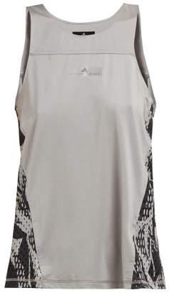 adidas by Stella McCartney Run Adizero Snake Print Performance Tank Top - Womens - Grey Multi