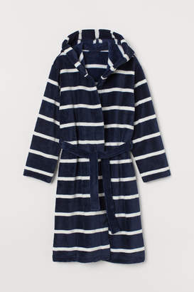 H&M Fleece dressing gown