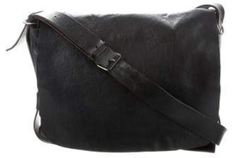 Balenciaga Leather Messenger Bag black Leather Messenger Bag