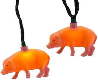 Kurt Adler Pig String Light Set