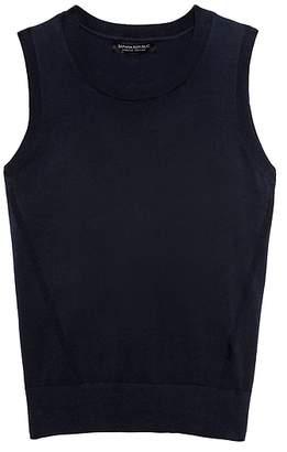 Banana Republic Stretch-Cotton Sweater Shell