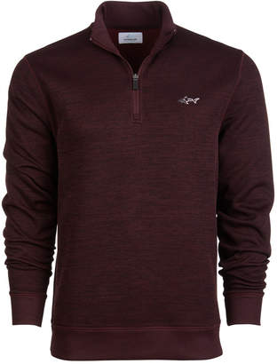Greg Norman Attack Life by Men's Herringbone Quarter-Zip Pullover Sweater, Created for Macy's