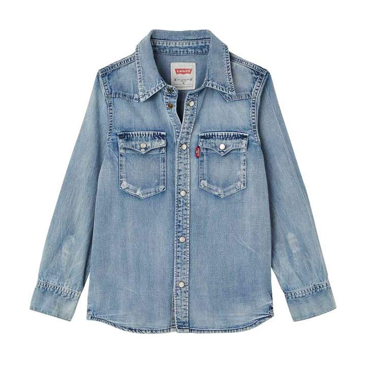 Kids Barst - Jeanshemd - jeansblau