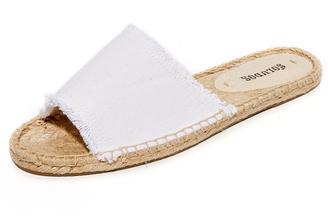 Soludos Espadrille Slide Sandals $60 thestylecure.com