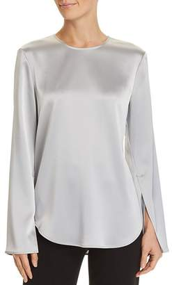 Theory Bringam Slit-Sleeve Top