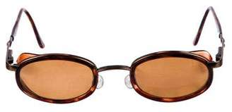 Maui Jim Oval Tinted Sunglasses