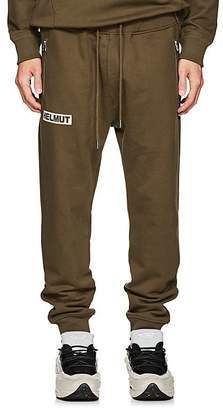 Helmut Lang Men's Logo Cotton Jogger Pants
