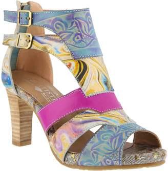 Spring Step L'Artiste by Leather Sandals - Brooke
