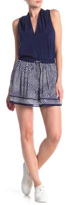 Ramy Brook Sofia Silk Printed Skirt