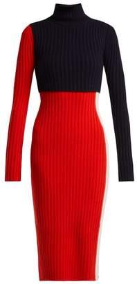 Sportmax Nadir Dress - Womens - Red Multi