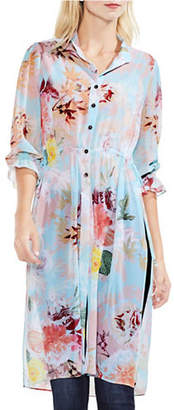 Vince Camuto Faded Blooms Tunic