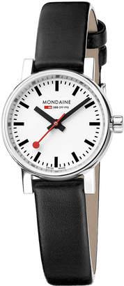Mondaine (モンディーン) - モンディーン(MONDAINE) スイス レイルウェイ Evo2 ウォッチ プチ ブラック