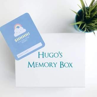 Bullabaloo Personalised Baby Memory Box