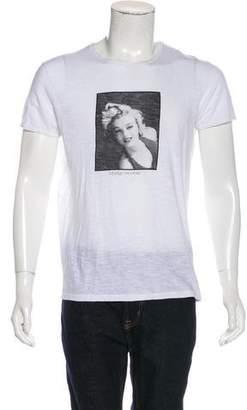 Dolce & Gabbana Woven Graphic T-shirt