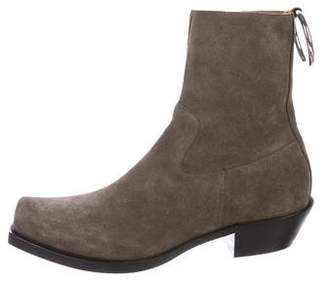 Vetements 2016 Suede Ankle Boots w/ Tags