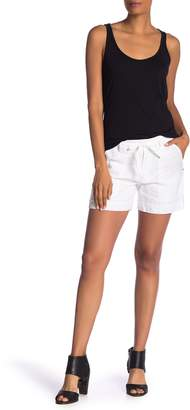 Johnny Was Calme Lined Linen Shorts