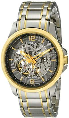Relic Men's Cameron Automatic Self-Winding Stainless Steel Skeleton Dial Watch