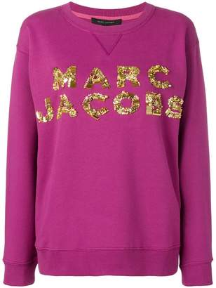 Marc Jacobs logo patch sweatshirt