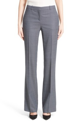 Women's Boss Tulea Stretch Wool Bootcut Trousers $345 thestylecure.com