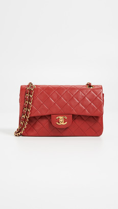 Chanel What Goes Around Comes Around Lambskin Classic Flap Bag