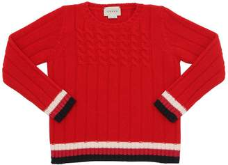 Gucci Wool Tricot Sweater