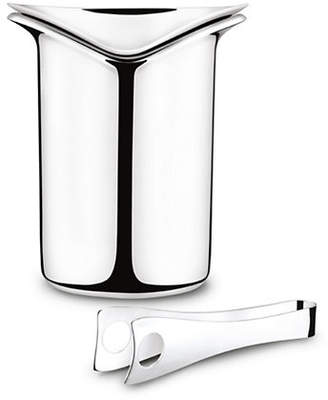 Georg Jensen Wine and Bar Ice bucket and tongs