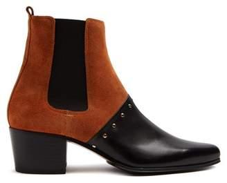 Balmain Artemisa suede ankle boots