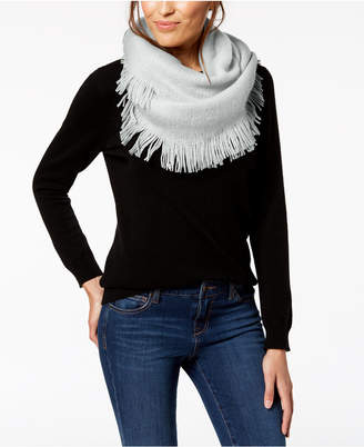 INC International Concepts I.n.c. Brushed-Knit Fringe Loop Scarf