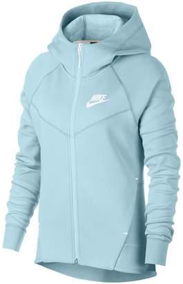 Nike Sportswear Tech Fleece Full-Zip Cotton Blend Hoodie