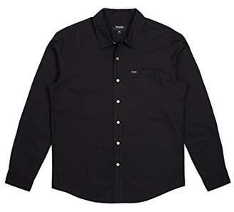 Brixton Men's Charter Standard Fit Long Sleeve Oxford Woven Shirt
