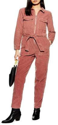 Topshop Corduroy Boilersuit