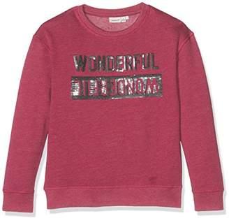 Name It Girl's Nitjasmis Bru SWE F NMT Sweatshirt,(Manufacturer Size: -128)