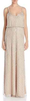 Adrianna Papell Beaded Blouson Gown $349 thestylecure.com