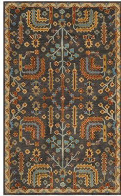 Loon Peak Boyd Hand-Tufted Multi-Color Area Rug