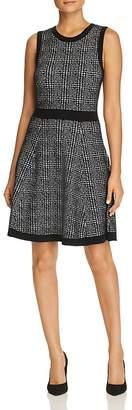 Kate Spade Sleeveless Plaid Sweater Dress