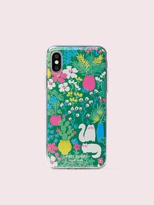 bcb53ccfa3 Kate Spade Jeweled Garden Posy Iphone X & Xs Case, Green