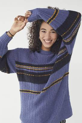 Urban Outfitters Snuggle Up Striped Tunic Sweater