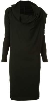 Masnada funnel neck dress