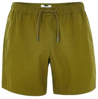 Topman Mens Khaki Ripstop Shorts