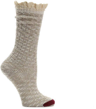Mix No. 6 Crochet Stripe Midcalf Sock - Women's