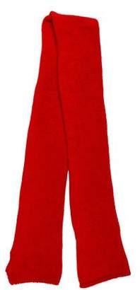 Dolce & Gabbana Knit Wool-Blend Scarf