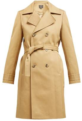 A.P.C. Alexis Belted Cotton Trench Coat - Womens - Beige