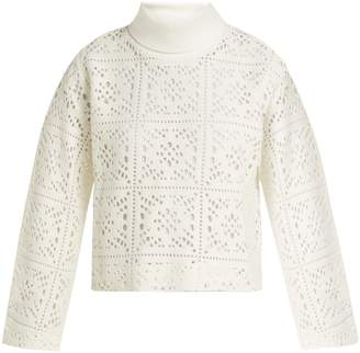 See by Chloe Cut-out knit sweater
